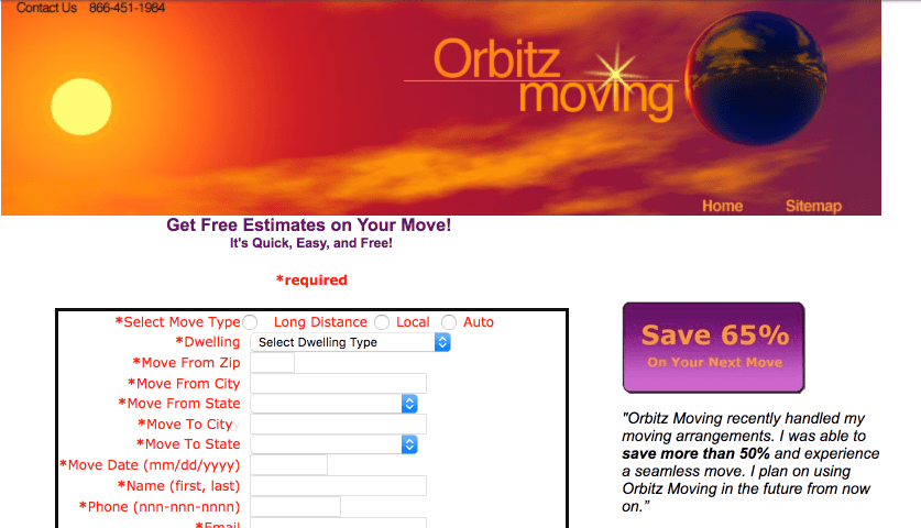 orbitz moving
